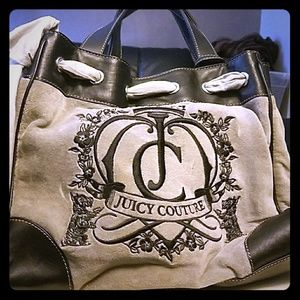 Grey Juicy Couture Tote
